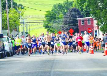 Due to the COVID-19 pandemic, the Mad Cow 5K race through Nelson will be held virtually this year. Participants are invited to run or walk the course independently on July 31, Aug. 1, or Aug. 2. (Gene Gissin Photography)