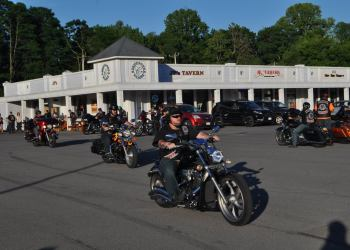 The Three Rivers chapter of Hades Hounds LEMC — a group of bikers made up of law enforcement officers, veterans and firefighters — held a charity ride June 12 to benefit Maureen's Hope Foundation.
