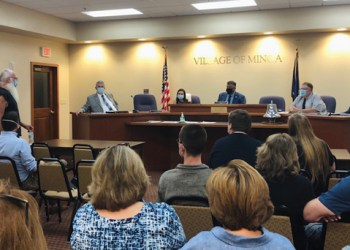 Minoa residents will be able to decide whether marijuana dispensaries and consumption sites will be allowed in their village. (Jason Klaiber)