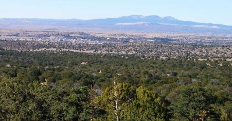 View from the front toward Silver City