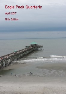 Fishing/observation pier at Folly Beach, NC