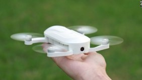 Tiny drone that fits in your hand