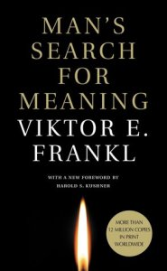 Cover of Viktor Frankl's Man's Search for Meaning