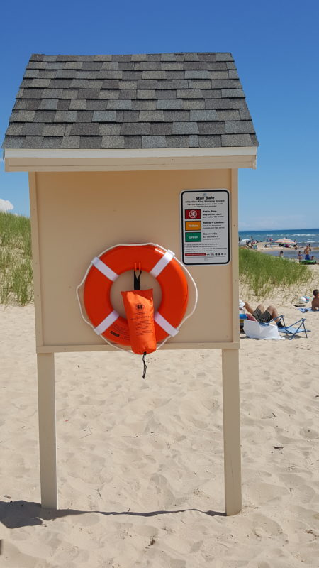 Lifesaving Equipment Stations