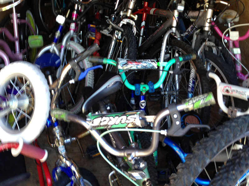 Restored Bikes for Needy Kids and Adults – Eagle Scout