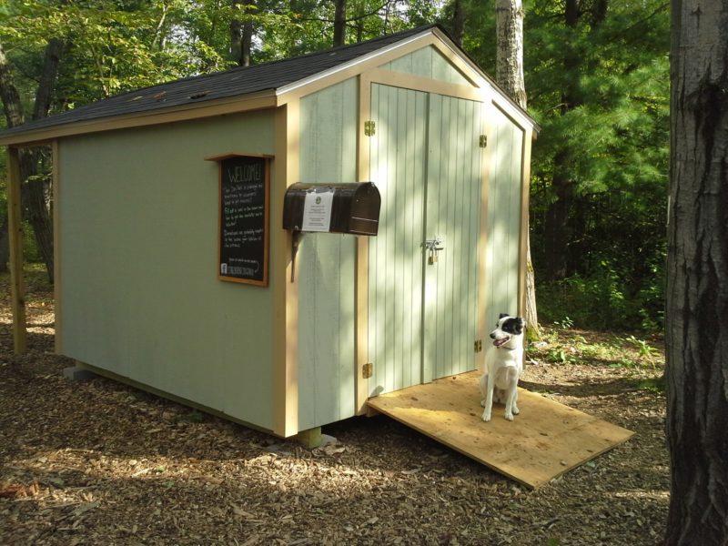 Dog Park Storage Shed and Shelter