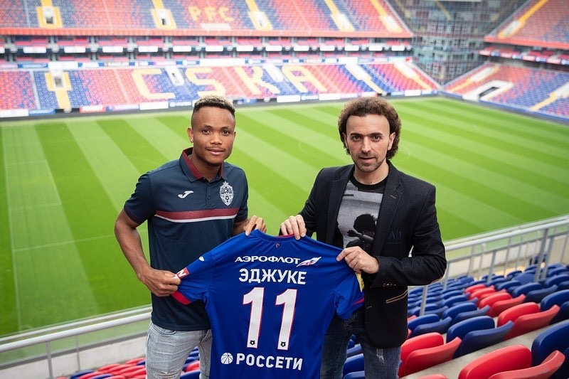 Chider Ejuke joins CSKA Moscow