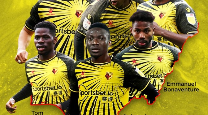 BROTHERS-IN-YELLOW: Watford's Nigerian Connection