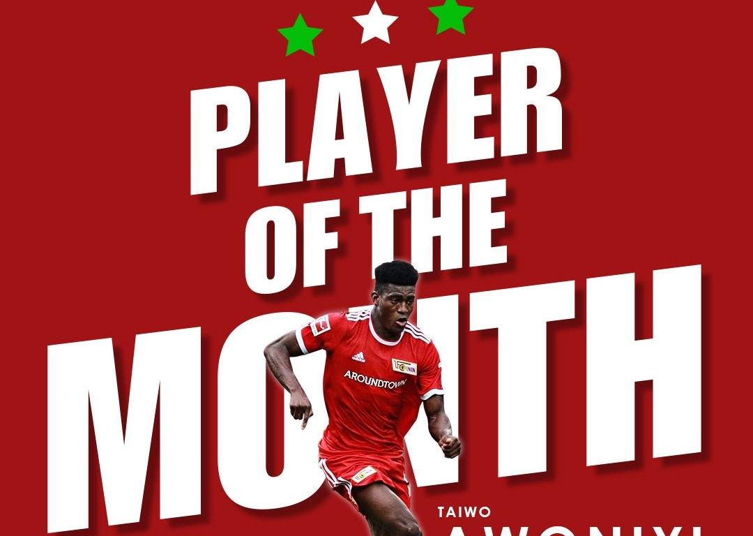 Awoniyi wins Nigerian Player of the Month for August 2021