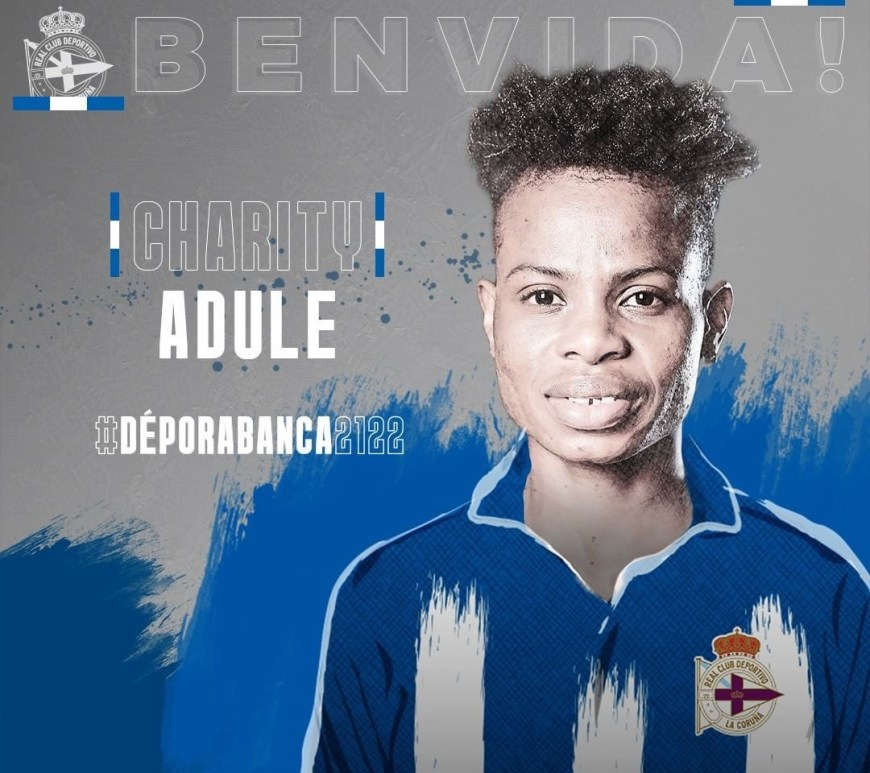 Charity Adule joins RC Deportivo