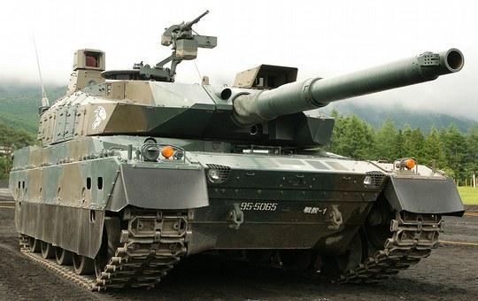 10式戦車 陸上自衛隊新戦車