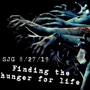 2019-08-23 - Finding the hunger for life