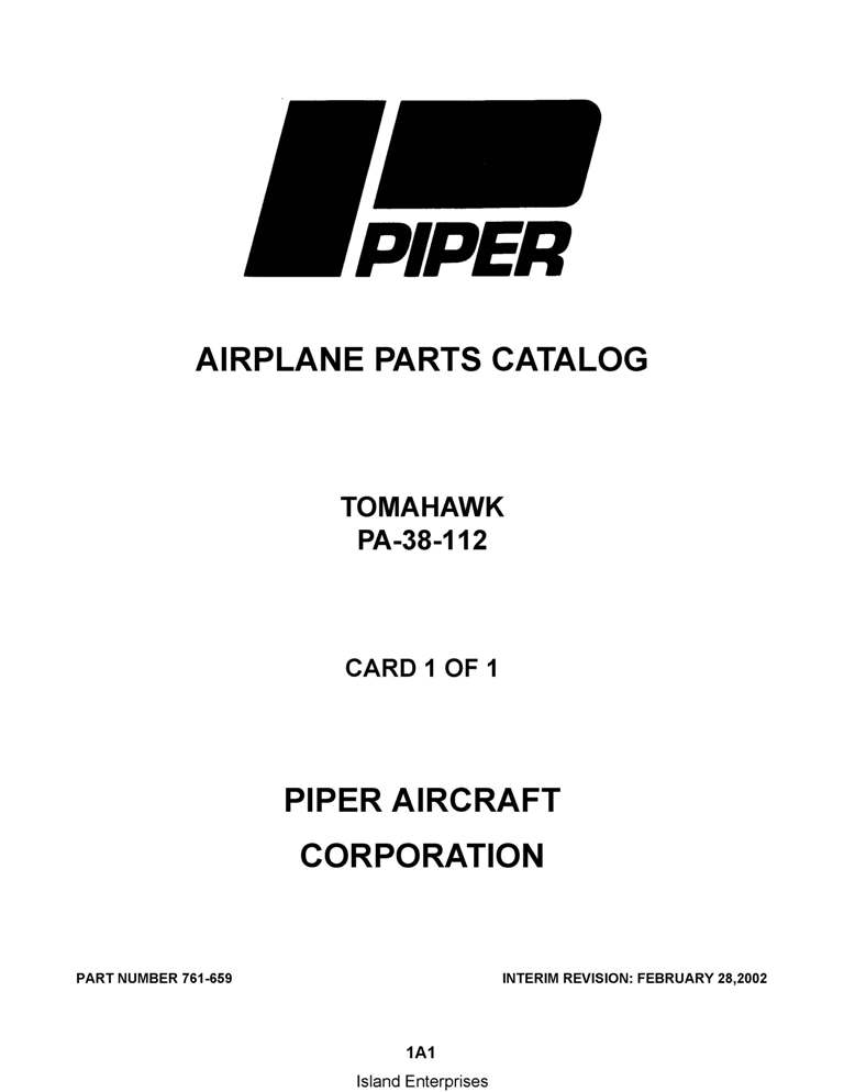 Piper Apache/Aztec Parts Catalog PA-23-235/250/25 Part