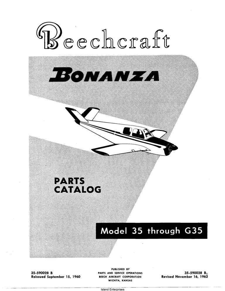 beech 33 35 36 maintenance parts manuals eaircraftmanuals com rh eaircraftmanuals com Beechcraft Bonanza C35 Cockpit Beechcraft Twin Bonanza