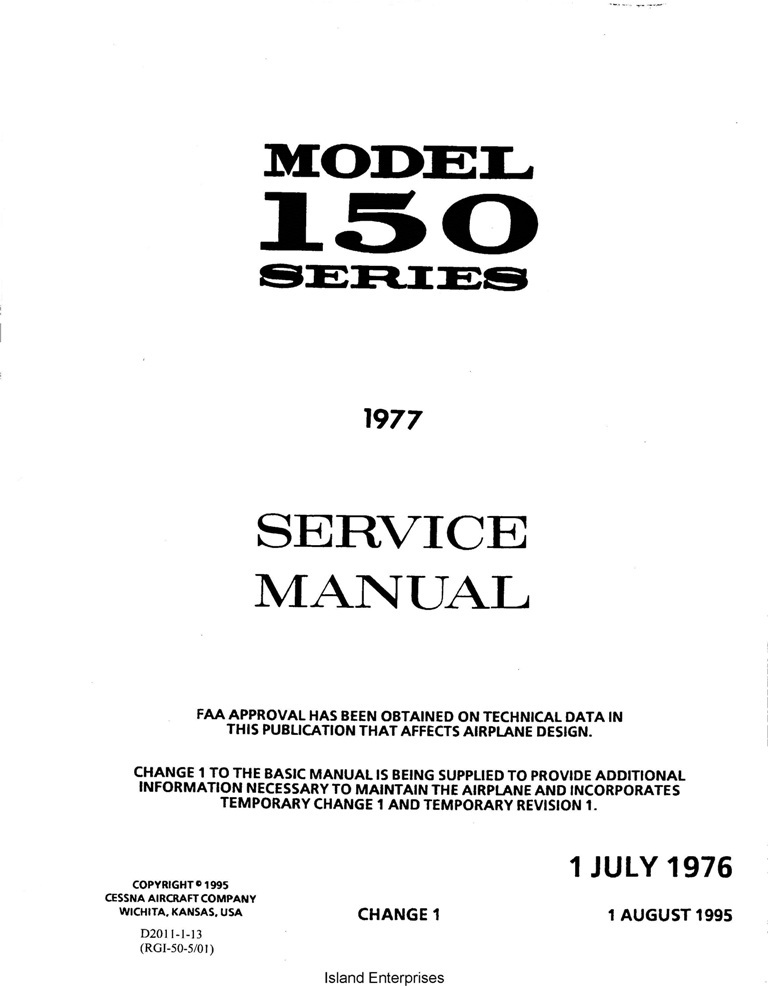 cessna 150 maintenance parts service manuals eaircraftmanuals com rh eaircraftmanuals com cessna 150 maintenance manual free cessna 150 aircraft maintenance manual