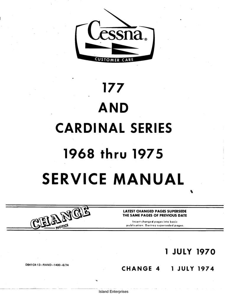 Cessna Model 152 Pilot's Operating Handbook 1979