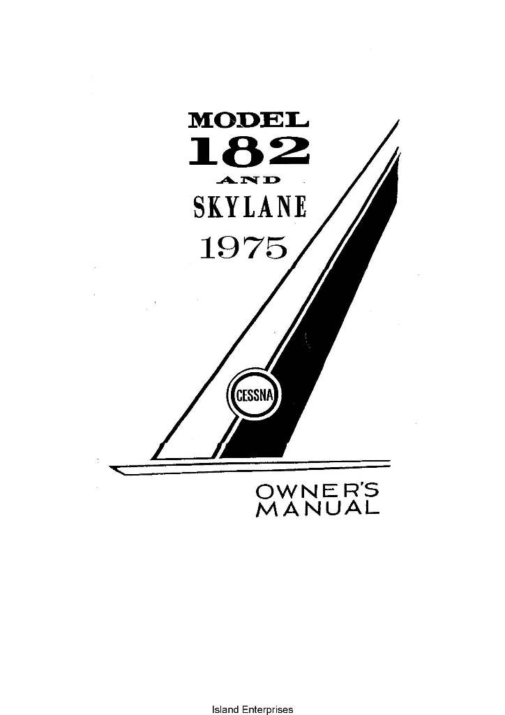 Mooney M20F Executive 21 Owner's Manual 1968