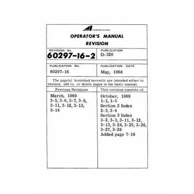 B1d eaircraftmanuals lycoming operators manual part 60297 16 2 o io aio lio 320 series 1968 1969 sciox Gallery