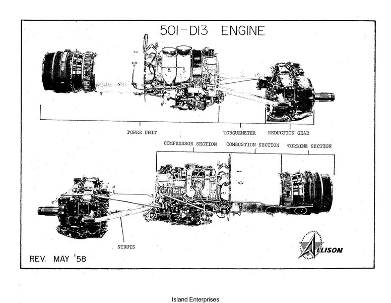 Allison V-1710 Engines Models E & F Service School Handbook