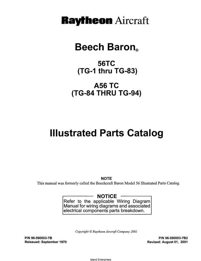 Beech 36 tc wiring diagram wiring diagrams schematics beech 36 tc wiring diagram wiring diagram ac wiring diagram mr2 wiring diagram beech baron 56tc tg 1 thru tg 83 a56 tc tg 84 thru tg 94 parts new beetle cheapraybanclubmaster Image collections