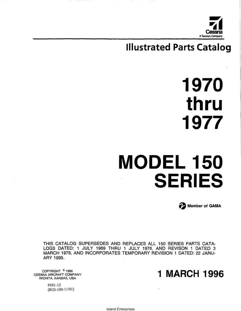 cessna 150 service manual 1977