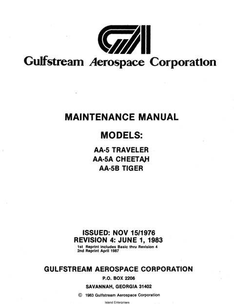 grumman maintenance parts manuals eaircraftmanuals com rh eaircraftmanuals com