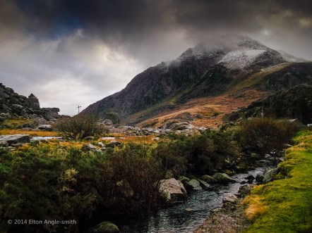 Tryfan from Pont Pen y Benglog