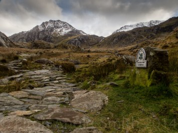 Entrance (Or Exit In My Case) To The Glyders. Tryfan and Glyder Fach Rear