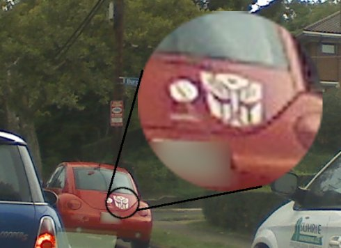 Transformers — Autobots car magnet