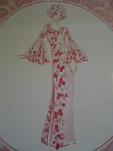 Muu Muu with Circle sleeve dress