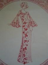 Muu Muu with Circle sleeve dress