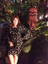 Hawaiian dress model: Robin