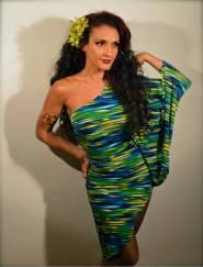 Marina Iris dress
