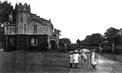 Another Postcard showing Lowther Gate House