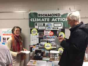 Neighbors Check Off Their Energy Actions at Town Meeting Day - Image courtesy of Jeff Forward.