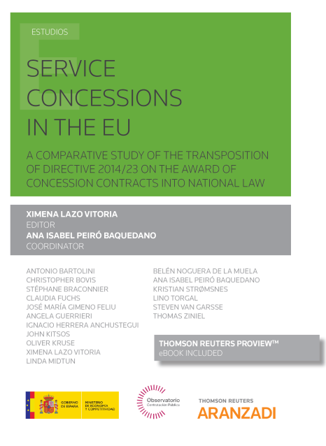 Portada de Service concessions in the EU