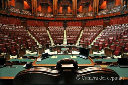Bancada del Parlament italià