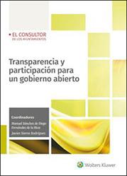 Portada Transparencia y participación para un gobierno abierto
