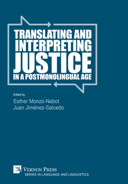 Portada Translation and Justice in a Postmonolingual Age