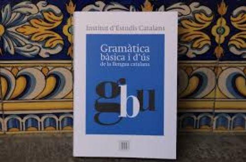Portada de la La Gramàtica bàsica i d'ús de la llengua catalana