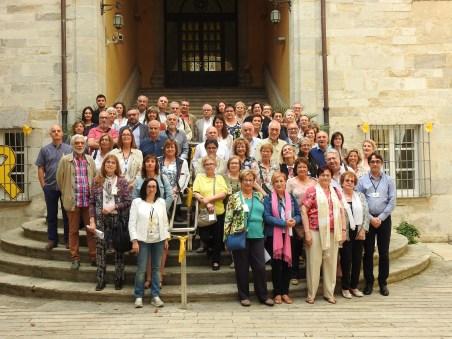 Foto de grup dels integrants del projecte Aprenem en fons i forma
