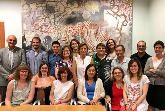 Fotografia del Grup de Treball de Transparència Local
