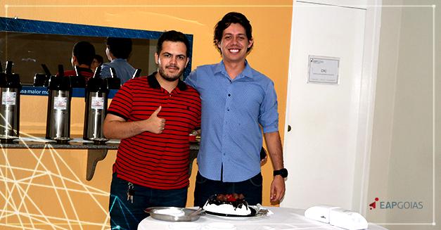 João Guilherme, da Turma VI da Especialização em CTBMF