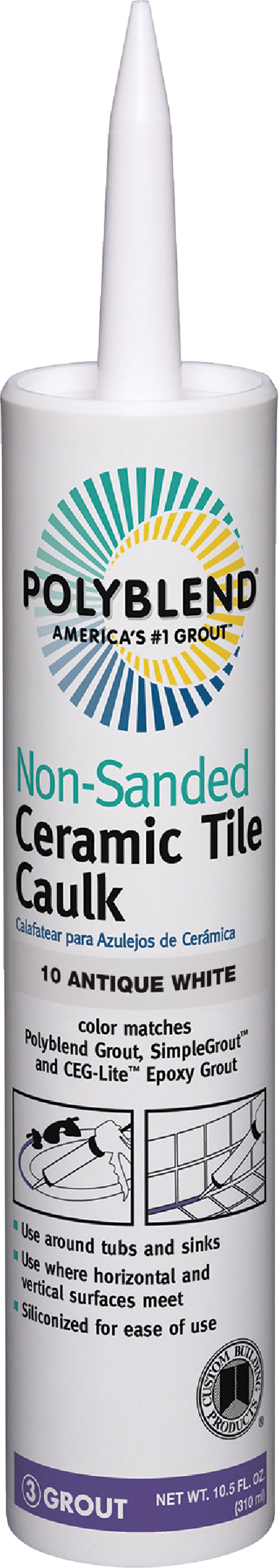 buy polyblend ceramic tile caulk 10 5