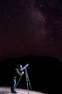 Night Sky and Telescope