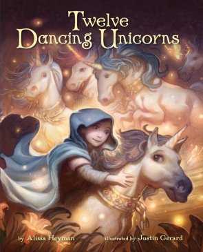 Twelve Dancing Unicorns by Alissa Heyman