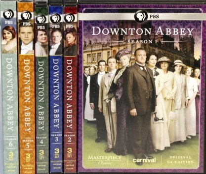 Downton Abbey DVDs