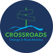 Logo for the Crossroads exhibit
