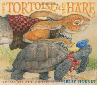 The Tortoise & the Hare by Jerry Pinkney