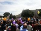 Christians in Bethlehem celebrated in Manger Square. Photo EAPPI/M. Whitton.